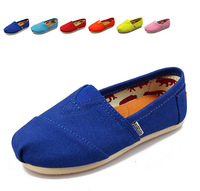 2015 Brand children's shoes Fashion kids Breathable Casual Canvas Shoes flat shoes Sneakers for boys girls