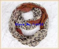 women spring fashion Leopard infinity scarf