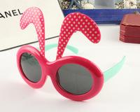 rabbit party kids sunglasses UVA sunglasses 24pcs/lot free shipping