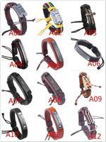 103 Styles Bracelet Fashion Jewelry Charm Bracelets Vintage Accessories Leather Alloy Perfect Lover Gift DIY Bracelets S001