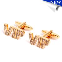 New Custom Design Cufflinks Gold Plated Luxury Cuff link