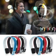 New Wireless Bluetooth Stereo Headset Headphone For Mobile phone For iPhone 5 4S 3 For iPad 2