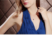 Fashion star 2014 s925 rotating pure silver fine pendant quality female necklace accessories