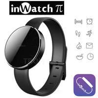inWatch Pi Bluetooth Smart Watch Sapphire Glass Screen Support Calorie & Sleep Tracking
