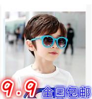 Child sunglasses male female child anti-uv glasses baby big frame sunglasses children glasses