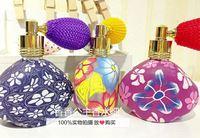10Piece/Lot 15ML Color Flower Airbag Perfume Bottle Soft Ceramic Empty Air Spray Perfume Bottle 3391