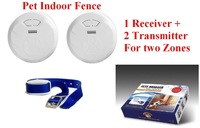 Pet Indoor Wireless Fence Dog training collar Dog Electric Shock Fence Dog Fence for 2 Zones