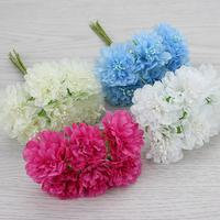 3cm Multicolor artificial Chrysanthemum flower wedding decoration Bouquet Scrapbooking