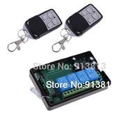 New AC 220V 4CH Receiver 4 Buttons Remote Control 315MHz Transceiver NIGH