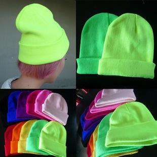 Мужская круглая шапочка без полей Wool cap 2015 /bboy Skullies & Q2297 skullies