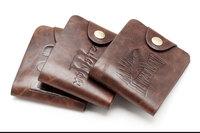 New Arrival Unique Wallet Men Crazy Horse PU Leather Men Bifold Wallets Coin Purse Vintage