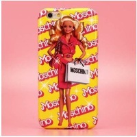 Barbie doll letters beauty girl case cover for iPhone 6 Plus