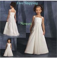 67 2015 lace chiffon flower girl dresses for weddings girls pageant dresses prom dress children vestido de daminha 2015