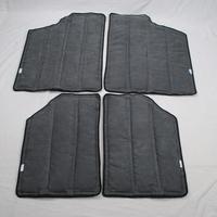 For Jeep Wrangler (2012-2014) 2 Door Hardtop Interior Insulation Cooler Kit Black Trim