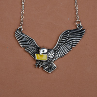 YP0161 Selling fashion jewelry personalized necklace European and American popular movie Hali Bo Tel Ravenclaw dove necklace