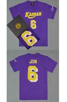 Free Shipping! KAINAN #6 Soichiro Jin T Shirt Jersey, Cheap SlamDunk KAINAN Basketball T Shirt Jersey S-XXL