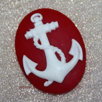 1Pcs Pirate ship Hook the anchor silicone mold Cake decoration cake mould chocolate mold