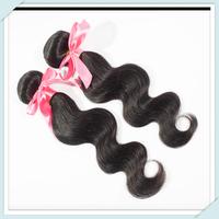 Top Quality Brazilian Virgin Hair Body Wave Extension 1pc 60g Unprocessed Longqi Cheap Human Hair Weaves Natural Black Hair #1b