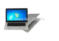 Brand New laptops 14 inch OEM Laptop Dual core 1GB 160GB Intel CELERON  CPU 1.6GHz ultrathin notebook computer A3 ultrabook