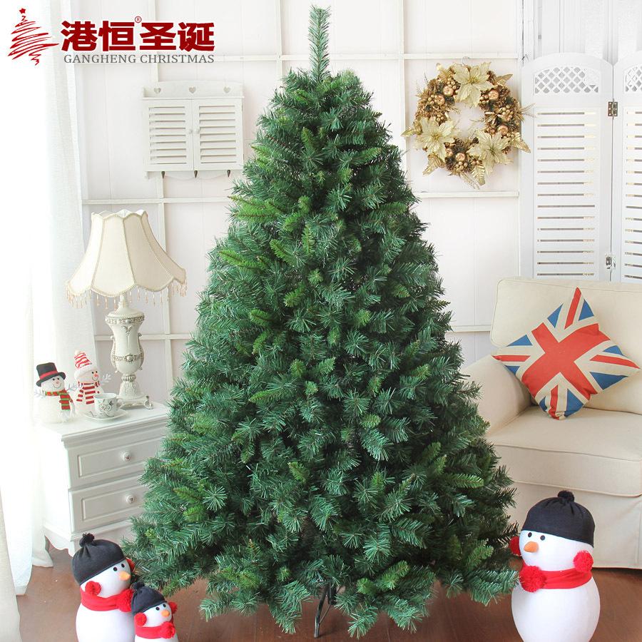 Hong Kong Hang Christmas 150cm high-grade encryption Christmas tree branches hanging laundry leaf tip luxurious Christmas tree 7(China (Mainland))