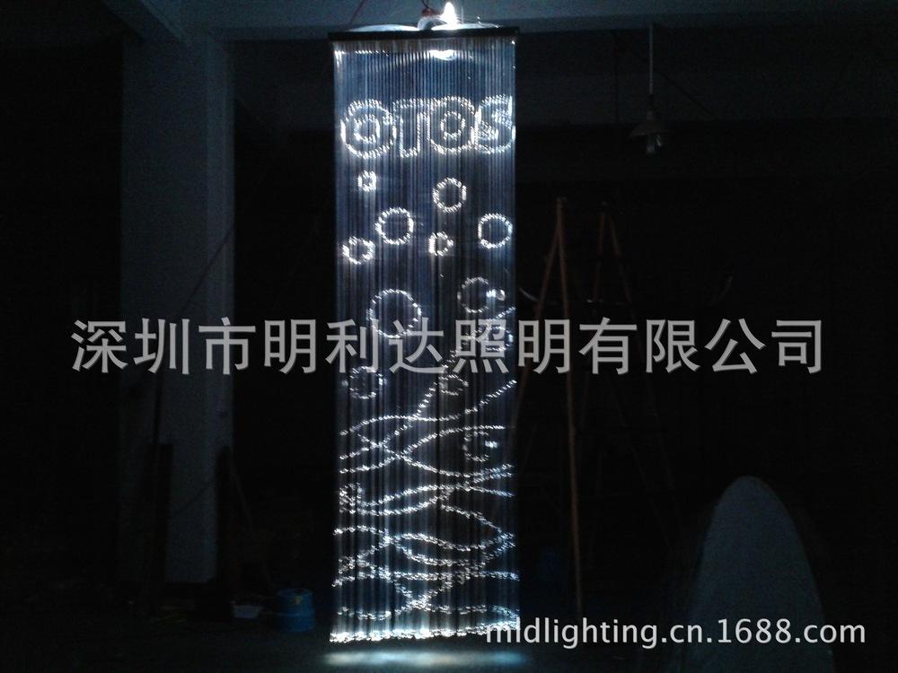 Supply of PMMA plastic optical fiber lettering fiber optic curtain Chandelier 45W-LED high- fiber(China (Mainland))