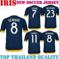 GERRARD 8 LA Galaxy Jersey 14 15 Los Angeles Galaxy Football Shirt 2015 GALAXY Gerrard DONOVAN JUNINHO KEANE  FRANKLIN MAGEE