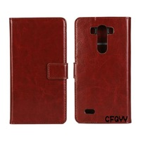 Printing Wallet Flip Card Slots Leather Case Cover For LG G3 MINI