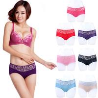 X.M Free Shipping Hot Top Quality Women Black Sexy Bamboo Fiber Spandex Ladies Girls Seamless Briefs Panties Underwear