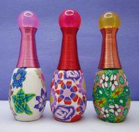 18ml 20Piece/lot Color Cute Spray Perfume Bottle Soft Ceramic Empty Bottle 3384