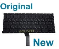 "Original New For Macbook Air 13"" A1369 A1466 MD231 MD232 MC503 MC504 RU Russian keyboard 2011 2012 2013 Year Teclado"