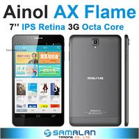 "7"" Ainol AX7 AX Flame MTK6592 Octa Core 3G Tablet PC IPS Retina 1920x1200 Android 4.4.2 2GB/32GB GPS Bluetooth"