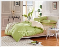 Bedding set/Sheet/ 4pcs/100% Cotton Bed set,Comforter pure color   /Bedclothes,Twin/Full/Queen/King Size /Free Shipping/34001