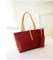 Brand New Ladies Handbag Casual Tote Composite Bag Embossed Belt Buckle Women Shoulder Bag Big Hobo Shoppers BUY 1 GET 2 Purse