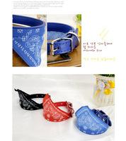 New 2015 Fashion Adjustable Pet Scarf Collar/Lovely Small Triangle Bandana dog Scarf Collar