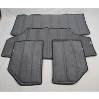 For Jeep Wrangler (2012-2014) 4 Door Hardtop Interior Insulation Cooler Kit Black szzt-1107