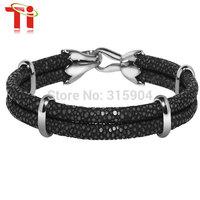 Ti 2015 Exclusive New Arrive genuine stingray sting bracelet  man and lady's bangle