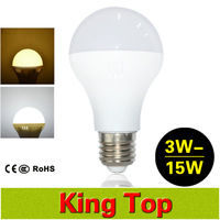 2015 NEW E27 Globe Led Bulb Lamps AC220V 3W 5W 7W 9W 12W 15W High Brightness Led Spotlights For Home Lighting