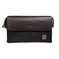 Men's Fashion Solid Genuine Leather Clutch Wallet