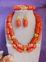MH 2015// 2015 New 013 fashion coral beads necklace set