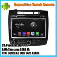 Dual Core 1.6G Pure Android 4.4 Car DVD Player For VW Volkswagen Touareg GPS Radio Stereo Navigation System+BT+USB+WIFI+MAP+MIC