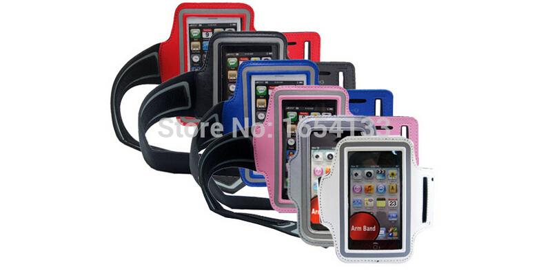 Виды летние бег повязки повязку чехол кожного покрова для iPhone 5 5C 5S iPod Touch , 5