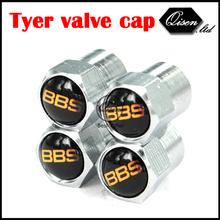 120 X SILVER CHROME BBS GOLD WHEEL VALVE CAP TYRE STEM AIR CAPS for M3 M5 X1 X3 X5 X6 E36 E39 E46 E30 E60 E92 FREE SHIPPING(China (Mainland))