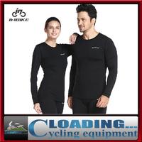 INBIKE men's women thermal fleece base layer winter sports under wear long sleeve shirts pants cycling clothing bicycle jersey