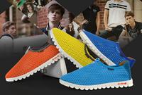 Fashionable Korean couple breathable mesh shoes mesh
