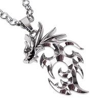 Free shipping 7032 Flame Dragon pendant folk style alloy pendant factory fashion men vintage necklace wholesale