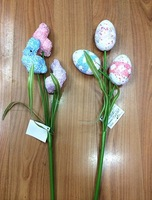Easter Holiday Gifts Easter decorations Easter egg decorated room with a wire inserted Egg Egg 110