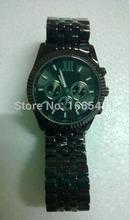 Hombres mujeres acero inoxidable de señora Quartz de moda para mujer reloj exacto del cuarzo de pulsera Micheael ~ kors relojes de cuarzo del diamante 010