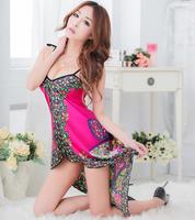 2015 Fashion folk style sexy night dress sexy women lingerie sexy underwear sexy costume dress sexy pajamas 3057