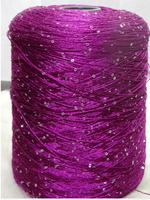 Popular sequined silk Sequins yarn fashion thread knitting needles yarn to knit thread to knit wool knitting yarn Acrylic line 3
