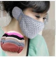 2376-4 masks masks warm autumn and winter earmuffs ear mask combo of cotton with earmuffs